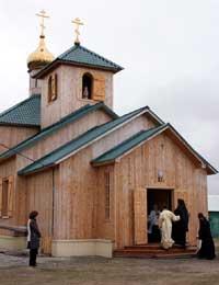 В Колве освящен храм