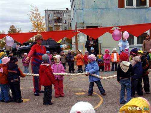 Три новые группы открыли свои двери для усинских малышей 18 сентября в детском саду № 10