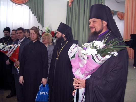 Епископ Питирим в Усинске