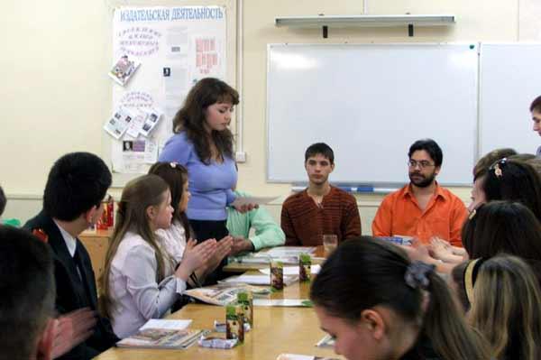 Мастер-класс для молодых «газетчиков»