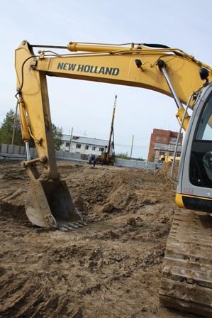 Начато строительство жилого дома