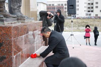 Усинск отмечает 25-летие Союза ветеранов Афганистана, Чечни и локальных войн