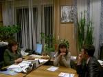 Председатель Усинского избиркома встретилась с руководителями местных отделений политических партий
