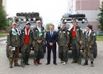 15 августа Александр Тян встретился с прибывшими в Усинск участниками автопробега «Воркута-Сыктывкар»