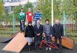 2 сентября в Усинске состоялось открытие скейт-площадки