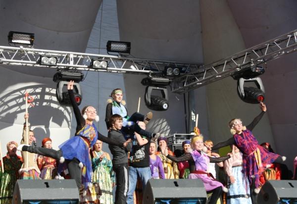 В минувшие выходные Усинск отметил День города и День работников нефтяной и газовой промышленности