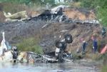 На борту разбившегося под Ярославлем Як-42 находились 45 человек, двое из них выжили