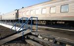 Окончены работы по удлинению и оборудованию перрона на железнодорожном вокзале Усинска