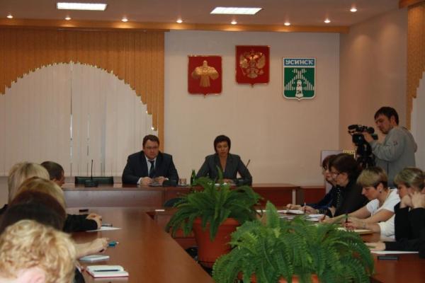 Заместитель министра экономического развития Республики Коми Ольга Осипова посетила Усинск с рабочим визитом