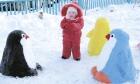 Снежная сказка, дарящая радость