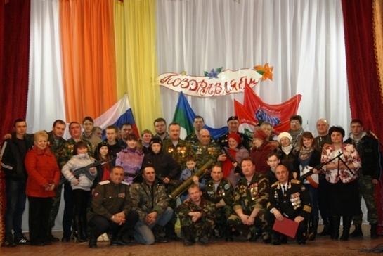 «Патриотический десант» побывал в селе Усть-Уса и деревне Новикбож