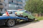 Эвакуация брошенного автотранспорта