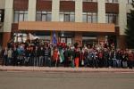 В Усинске завершился II этап республиканской экологической акции «Речная лента»