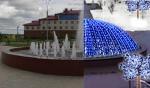 Усинский сквер у фонтана этой зимой станет украшением города