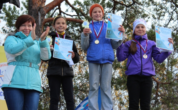 В минувшее воскресенье в Усинске прошел Всероссийский день бега «Кросс наций – 2012»