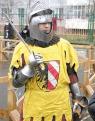 В рыцарских доспехах