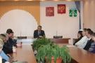 Встреча главы городского округа Александра Тяня с ветеранским активом