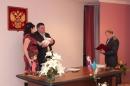 Сегодня в отделе ЗАГСа г. Усинска состоялась первая торжественная регистрация ребёнка в 2013 году
