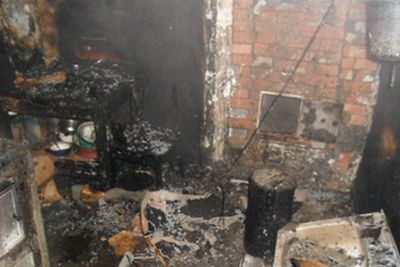 В Усть-Усе сгорел пенсионер и его дочь