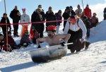 «Snow box» – гонки на тарантасах