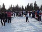 Первенство города по лыжным гонкам «Ищем таланты»