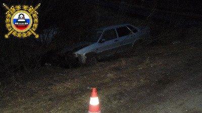 На трассе Усинск – Усть-Уса опрокинулся ВАЗ-21150