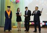 Глава муниципального образования Александр Тян поздравил выпускников Усинского филиала «УГТУ»