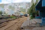 В Усинске продолжаются ремонтные работы дворовых территорий
