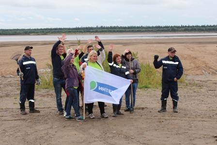 29 усинских предприятий и учреждений приняли участие во II этапе республиканской экологической акции «Речная лента»