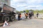 Продолжается ямочный ремонт городских дорог