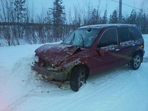 В Усинском районе нетрезвый водитель иномарки угробил пассажира