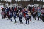 Торжественное открытие Первенства г.Усинска по лыжным гонкам