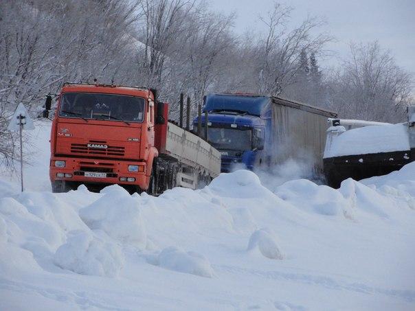 Экстремальное путешествие от Сыктывкара до Усинска