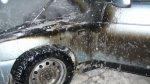 В Усинске неизвестные подожгли автомобиль