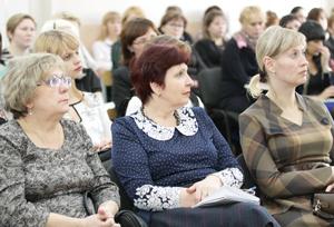 Собравшиеся слушали министра очень внимательно