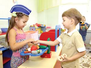 Детвора во время занятий