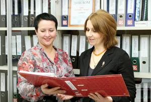 И. Мамонтова (слева) и О. Осипова