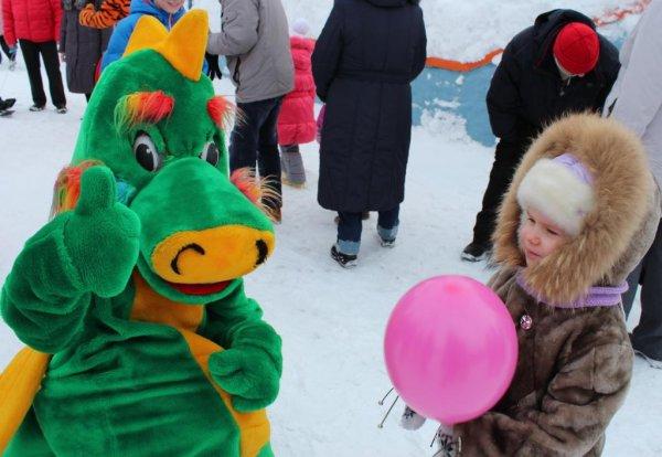 Проводы зимы прошли традиционно оживленно и весело