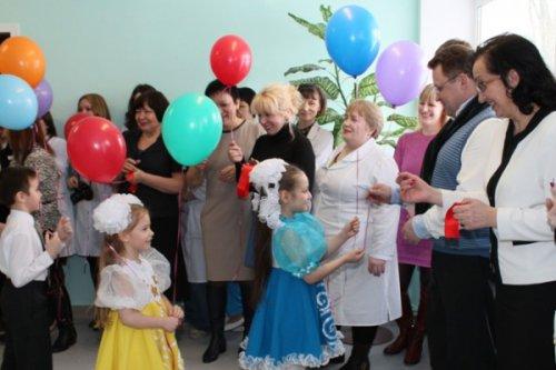Открылась обновленная детская поликлиника