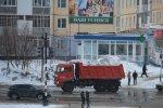 1120 кубометров снега за один день вывезли из города социально-ответственные предприятия
