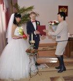 В ЗАГСе Усинска зарегистрировали 100-ую пару в 2014 году