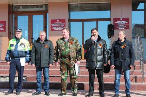 26 апреля 2014 года состоялся автопробег Усинск–Усть-Уса–Усинск в честь Великой Победы