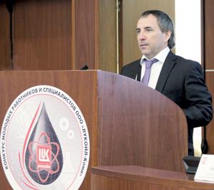 Р. Пивовар приветствует участников
