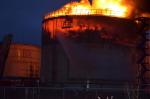 Пожар на резервуарах с нефтью в Усинске ликвидировали