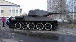 В Усинске установлен танк времен Великой Отечественной войны