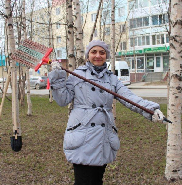 Чистый аккорд усинского субботника (фото)