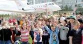 В Усинске открылся обновленный детский парк