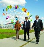Мэр Усинска назвал ООО «ЛУКОЙЛ-Коми» лидером в реализации приоритетных социально ориентированных городских проектов